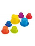 Juguete Minicups de formas apilables de Miniland Baby