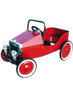 Coche a pedales Clásico Rojo diseño de 1938