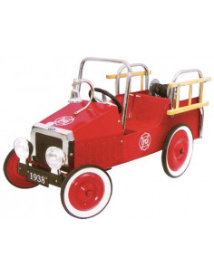 Camión de Bomberos a pedales con campana