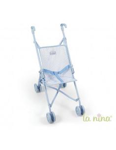 Silla de muñecas grande Paula Azul de La Nina
