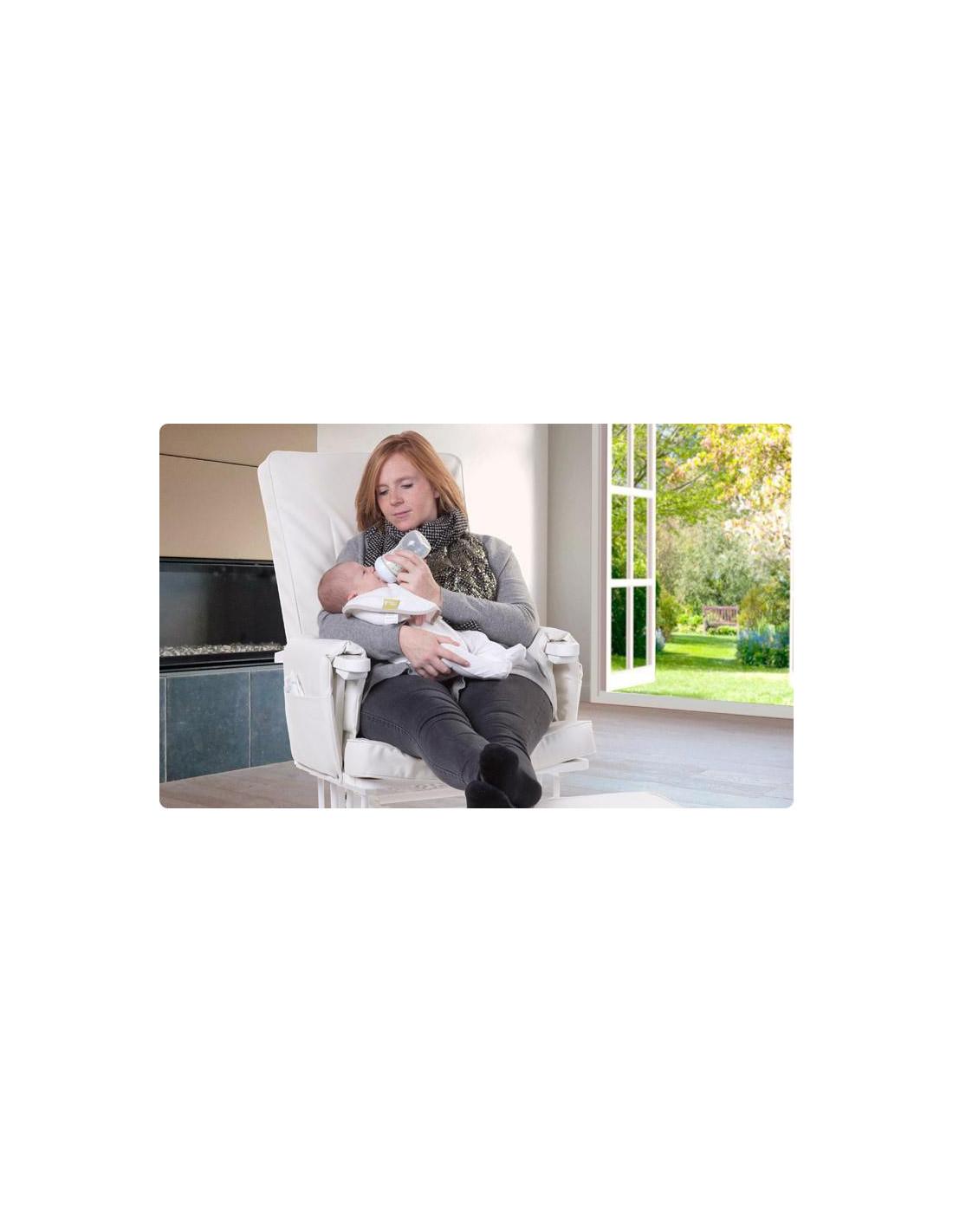 Sill n de lactancia blanco para tu beb de child home - Sillon habitacion bebe ...