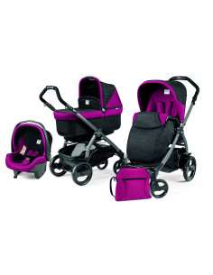 Coche de bebé tres piezas Book Plus Pop-Up Peg-Perego