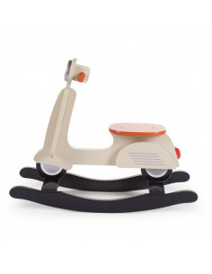 Scooter balancín Cream Classic de Child Home