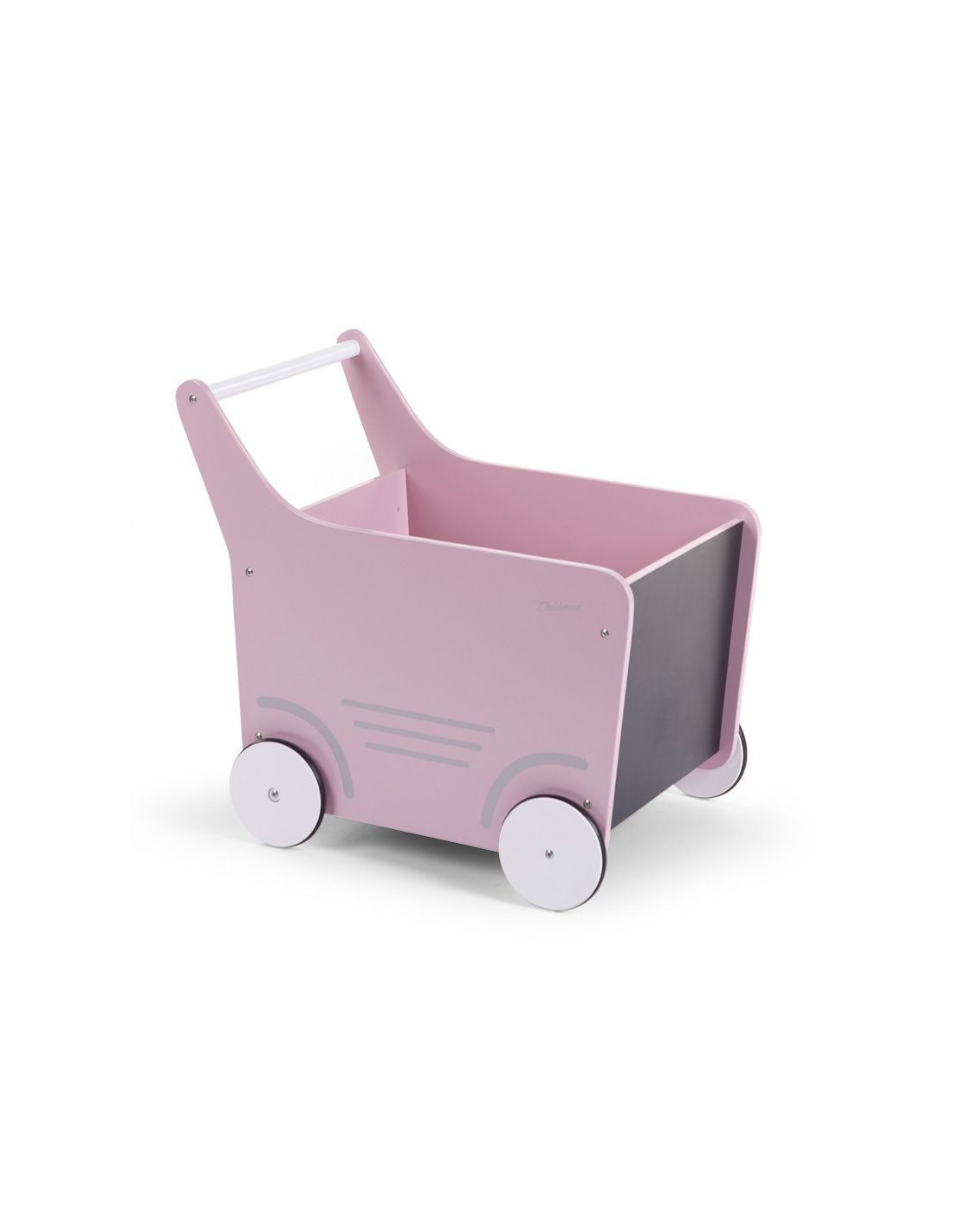 Carrito de juguete con ruedas de child home for Carritos con ruedas para cocina