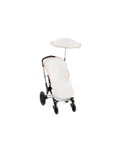 Colchoneta silla de paseo ondas musicales de Pili Carrera
