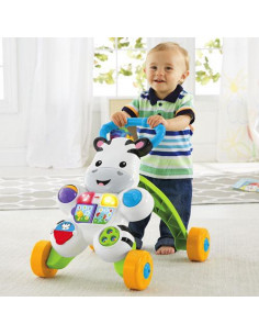 Andador cebra parlanchina de Fisher Price