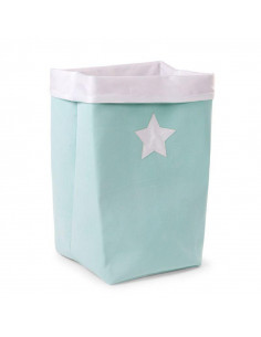 Cesta de almacenaje canvas mint de Child Home