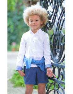 Camisa niño Azul La Ormiga Invierno