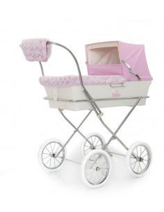 Kit de invierno rosa para coche muñecas de Bebelux