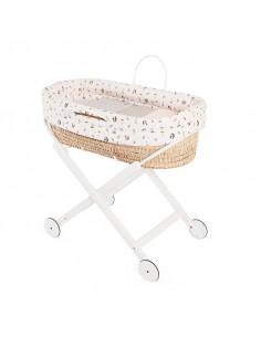 Cesto bebé con estructura Timbales de Pili Carrera