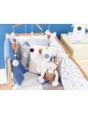Protector de cuna cama 70x140 Timbales de Pili Carrera