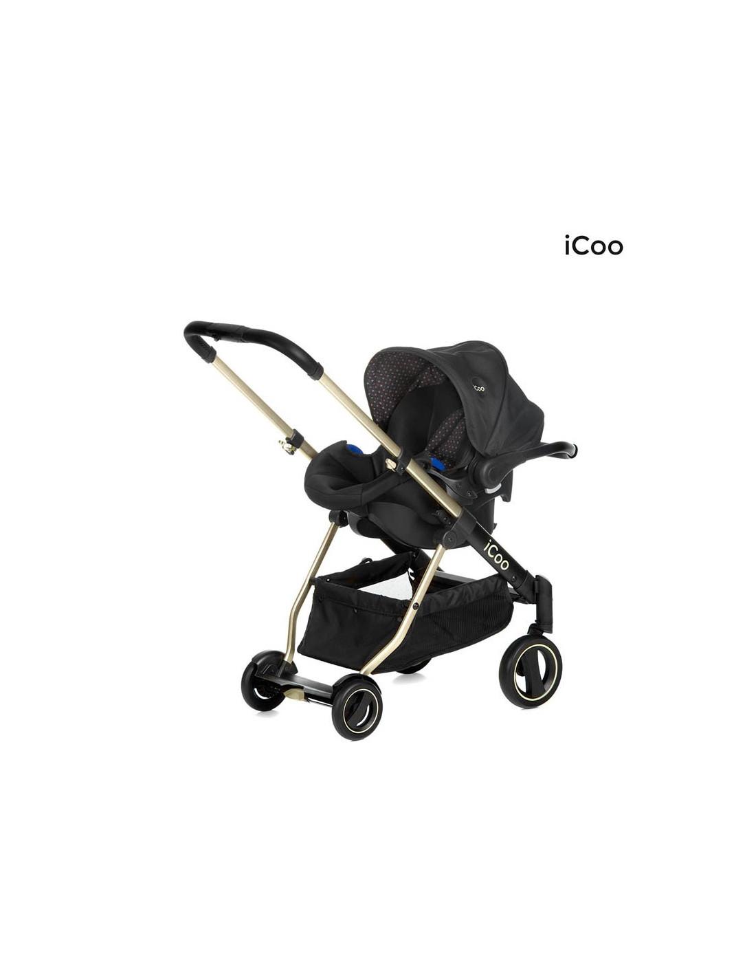 Coche 3 piezas icoo acrota xl plus env o gratis 24 h for Piezas para bebes