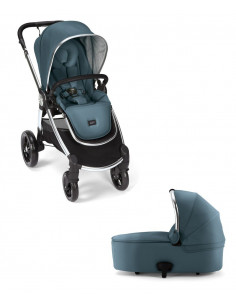 Coche bebé dúo Ocarro Blue Mist de Mamas & Papas