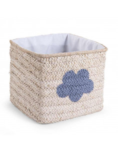 Cesta de mimbre estrella y nube natural de Child Home