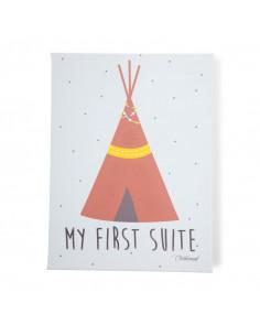 Cuadros mi primer suite con flechas de Child Home