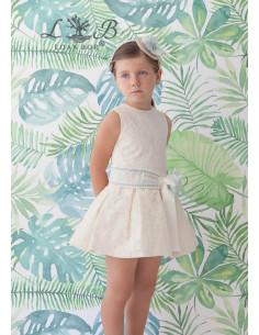 Vestido para niña Agua de Loan Bor Primavera Verano