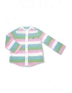 Camisa de manga larga para niño Rayas Fresa de Foque