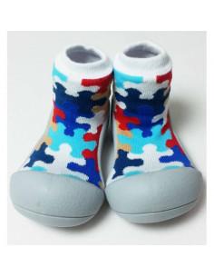 Zapato infantil Puzzle Gray de Attipas