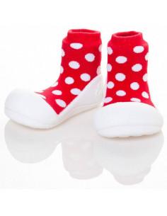 Zapato infantil Polka Red de Attipas