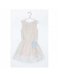 Vestido para niña Tull de Loan Bor Primavera Verano