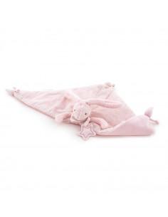 Conejito de peluche doudou Baby Etoile de Pasito a Pasito