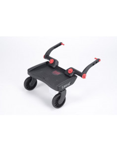 Patin Lascal Buggy Board mini 3D negro y rojo