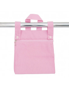 Bolso Stylon rosa de coche muñecas de Bebelux