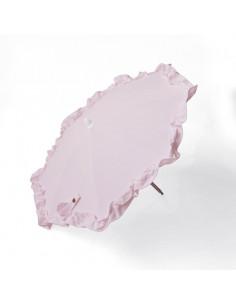 Sombrilla rosa para carrito muñecas de Bebelux