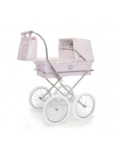 Burbuja de coche grande rosa bebé de Bebelux