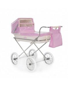 Burbuja rosa para carrito pequeño de muñecas de Bebelux