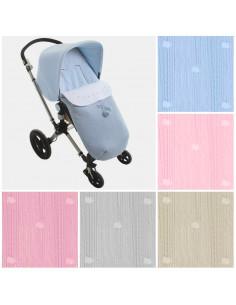 Saco de invierno para silla de paseo AD Bebé de Uzturre