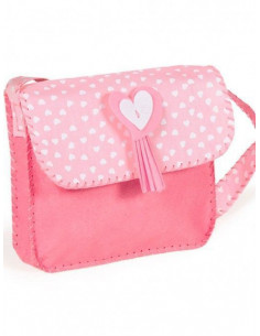 Kit Bolso para coser rosa de La Nina