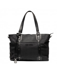 Bolso maternal Paris negro de Little Company
