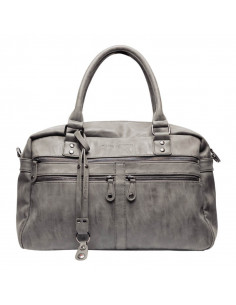 Bolso maternal Bruselas antracita de Little Company