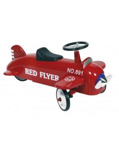 Correpasillos avión rojo de Protocol