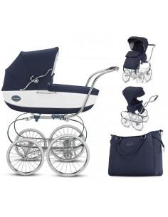 Coche bebé dúo Inglesina Classica Bianco Blue