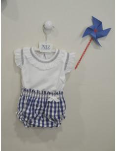Conjunto para niña Puerto de Paz Rodriguez Verano