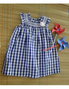 Vestido de cuadros Puerto de Paz Rodriguez Verano