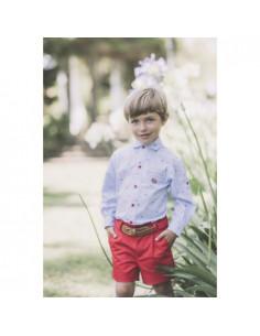 Camisa para niño Marinero de Dolce Petit Verano