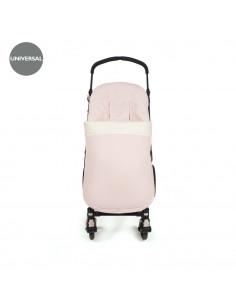 Saco para silla de paseo Biscuit Rosa de Pasito a Pasito
