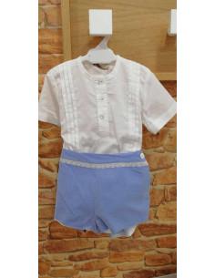 Conjunto de bebé para niño Azafata La Ormiga