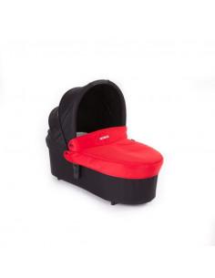 Capazo Baby Monsters Globe - Compact roja