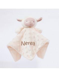 Dou Dou cabecitas oveja beige +0m Personalizado