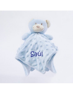Dou Dou cabecitas oso azul +0m Personalizado