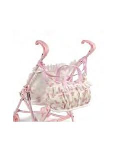 Bolsa nursery flor rosa de La nina