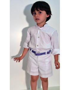 Conjunto niño lino 1956 de Pilar Batanero