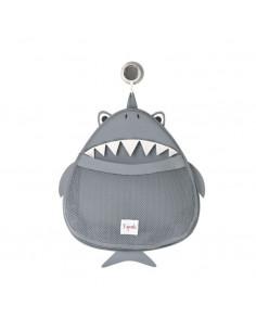 Colgador de baño tiburón de 3 Sprouts
