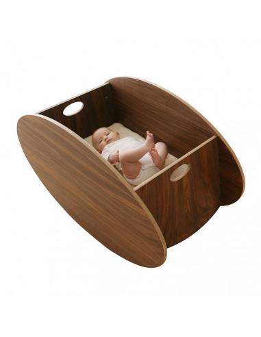 Minicuna de madera So-Ro de Babyhome