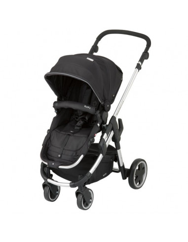 Silla Click'n move 3 color Racing Black de Kiddy