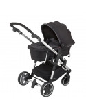 Capazo Racing Black Click'n move 3 de Kiddy